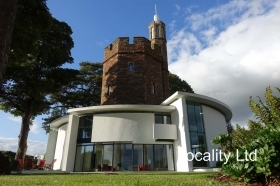 Modern white space former water tower film and photo shoot location Cheshire