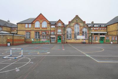school with exteriors  film/TV photo shoot location in London